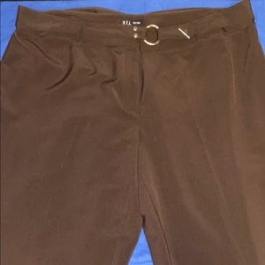 EUC BROWN SUIT PANTS